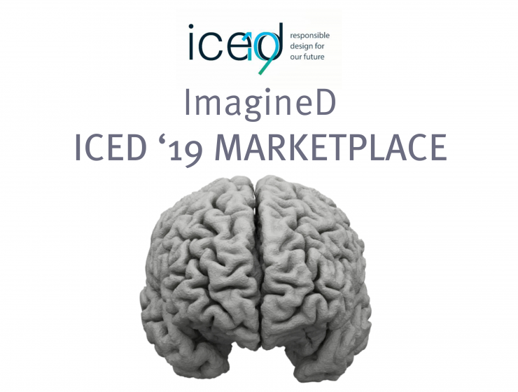 Imagine-D | ICED 19: Marketplace and conference paper